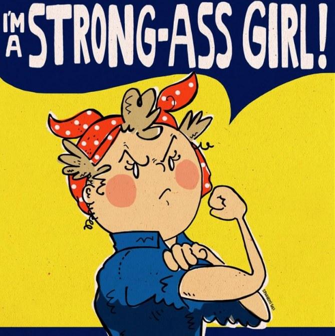 """""""Ich bin ein verdammt starkes Mädchen!"""""""
