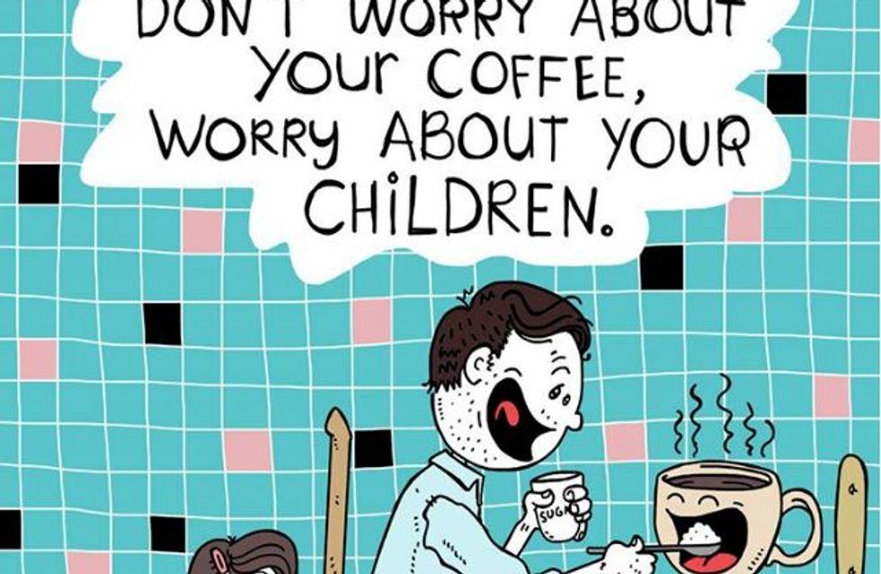 Kindermund tut Wahrheit kund: Dieser Vater zeichnet die genialen Sprüche seiner Tochter