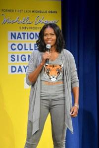 Michelle Obama le 5 mai à New York