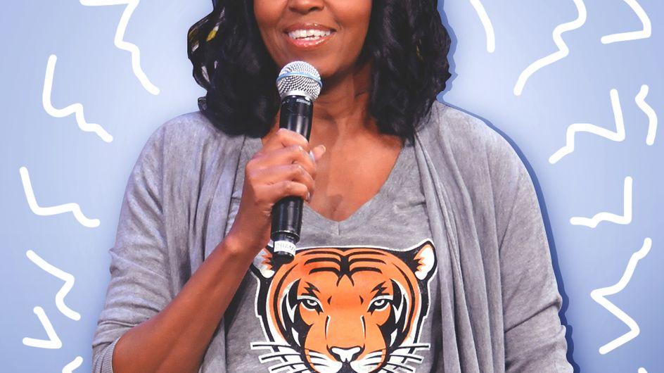 Le retour casual de Michelle Obama que l'on ne peut qu'adorer (Photos)