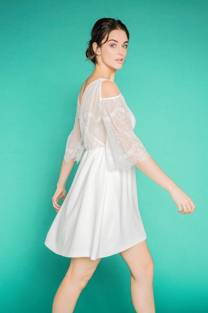 La robe de mariée Camaïeu, 79.99 euros