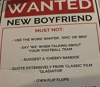 Woman Takes Her Boyfriend Search To The Next Level By Putting Up Wanted Posters