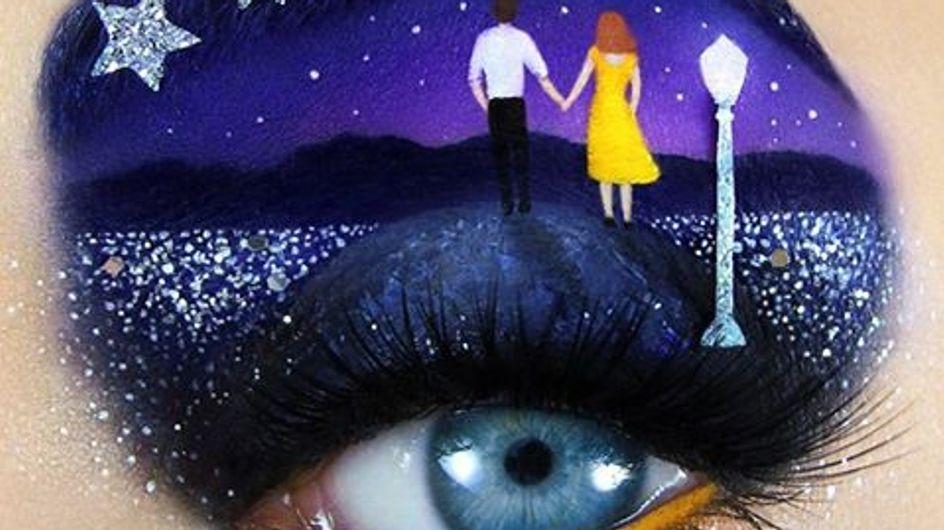 Las mejores películas de Hollywood convertidas en maquillaje de ojos