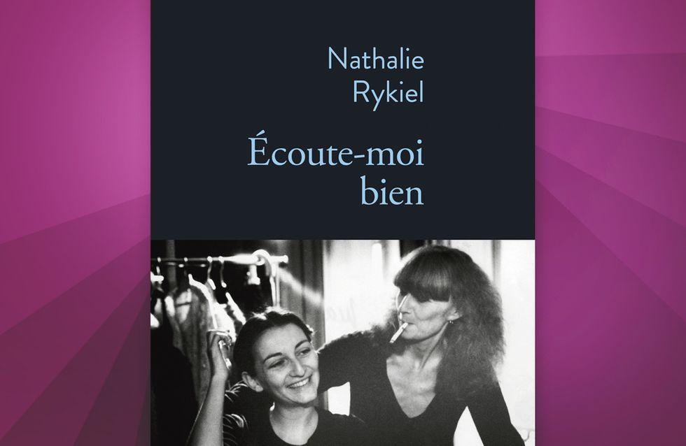 Ecoute-moi bien, le touchant hommage de Nathalie Rykiel à sa mère