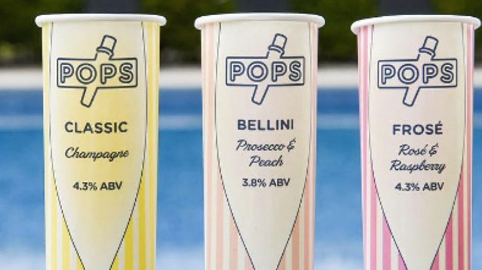 Prosecco, Rosé and Champagne Ice Lollies Are The Fanciest Treat You Need This Summer
