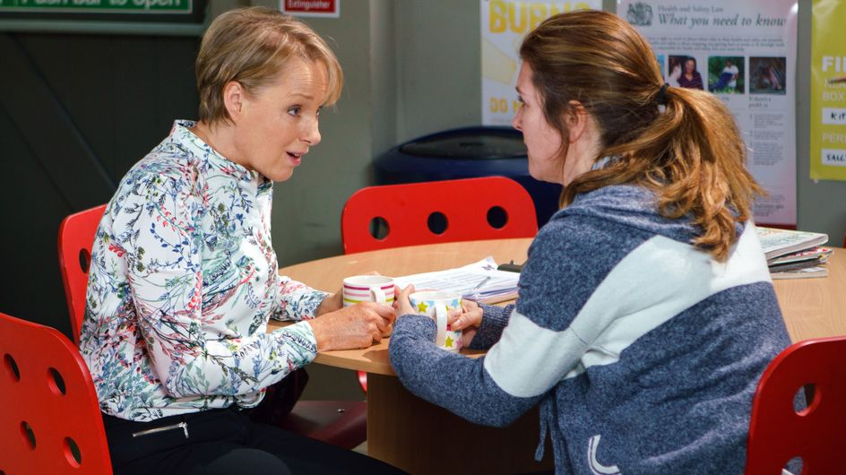Coronation Street 24/05 - Gina Confesses To Sally She Was Her Internet Troll