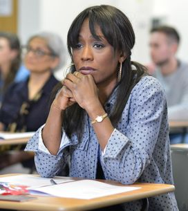 Eastenders 22/05 - A Nervous Denise Heads To Her Exam