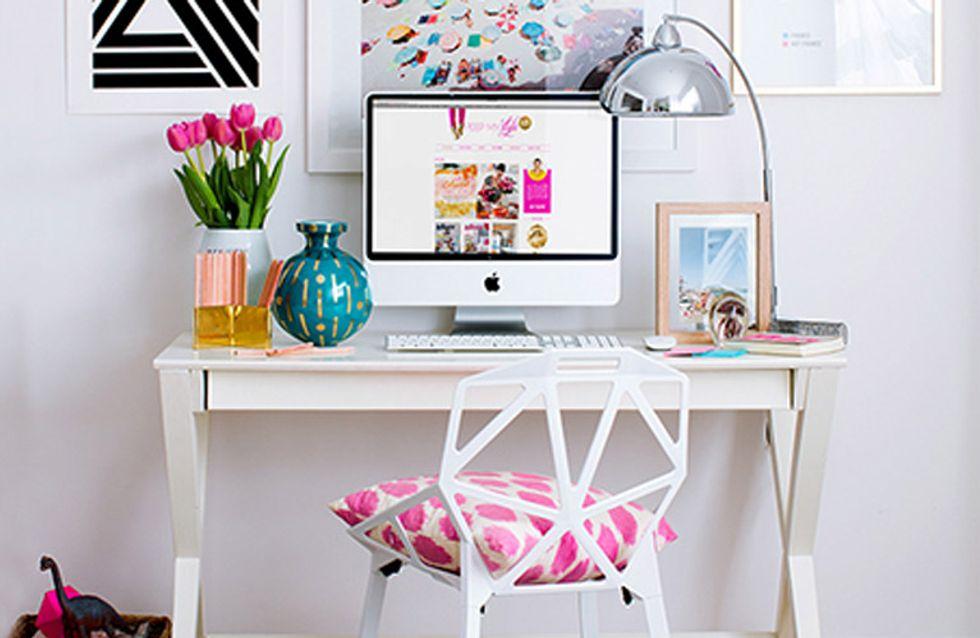Work in progress... 5 claves para crear tu office en casa