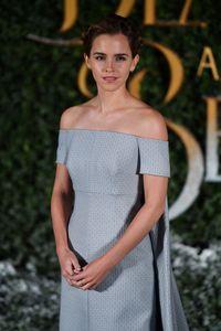 Emma Watson en el estreno de La Bella y la Bestia de Londres