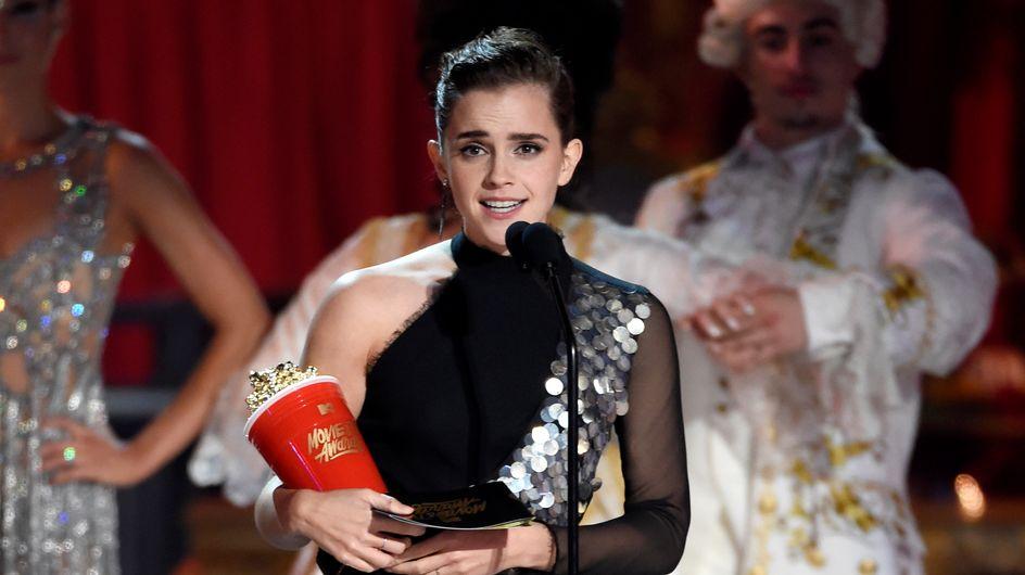 Emma Watson y su vestido sostenible, el mejor look de la semana