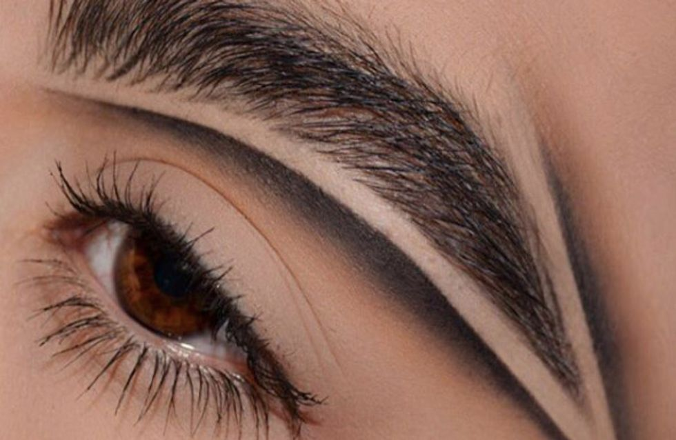 There's Already Another New Brow Trend, And It's Called Brow Carving