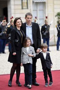 Sébastien Auzière avec sa famille