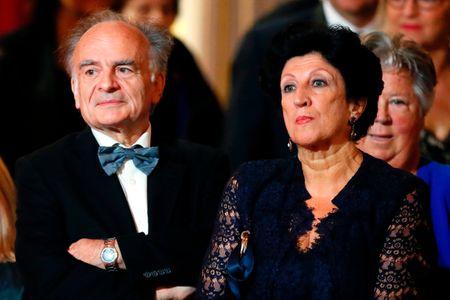 Jean-Michel Macron et Françoise Noguès