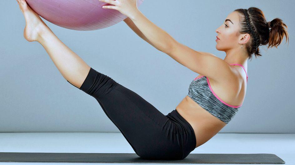 Schön schlank: Trainiere deinen gesamten Körper mit Pilates