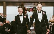 Así fue la gran boda de Jim Parsons con su novio de toda la vida