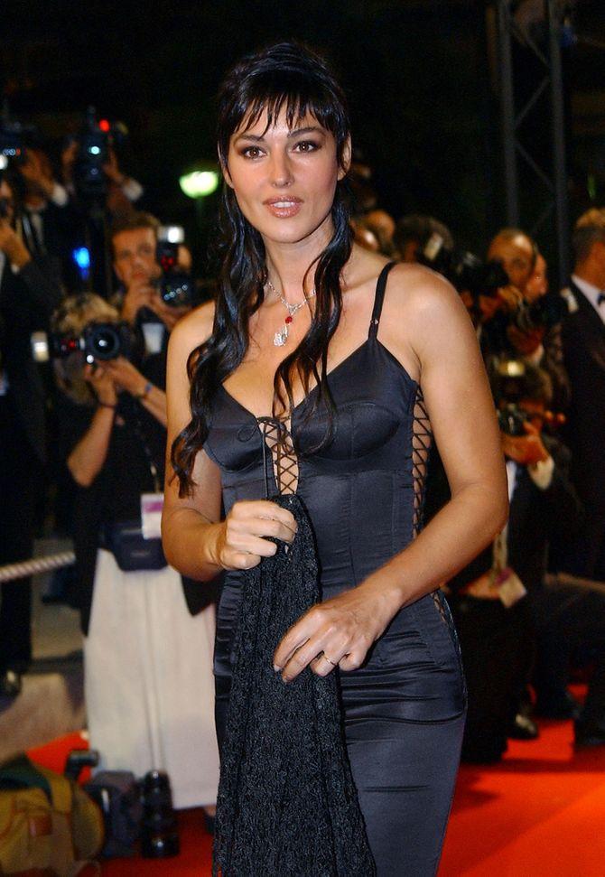 Monica Bellucci en 2002 au Festival de Cannes