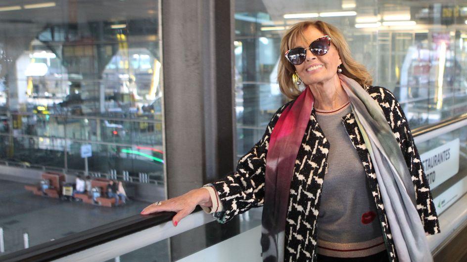 María Teresa Campos, ingresada en el hospital por una isquimia cerebral