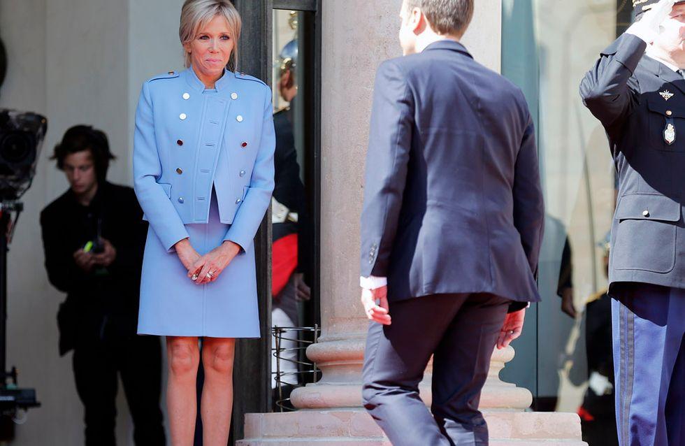 Brigitte Macron, convertida en el centro de la polémica por un mundo machista