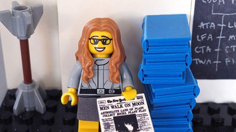 Coleção de Lego homenageia mulheres cientistas da NASA