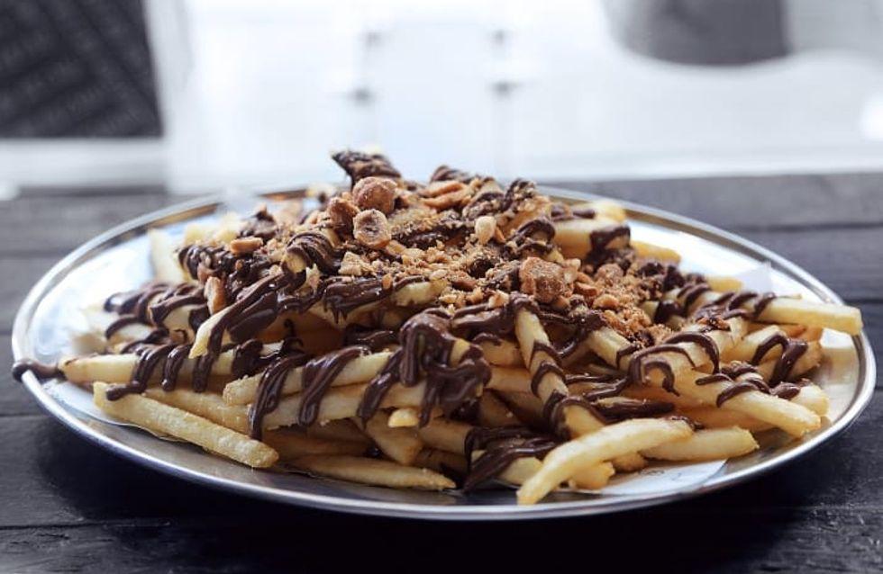 Pommes mit Nutella: Traut ihr euch an diesen neuen Food-Trend ran?