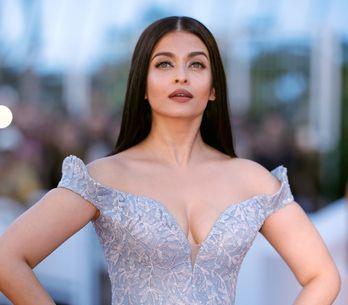 Aishwarya Rai foule le tapis rouge de Cannes avec une robe digne de Cendrillon