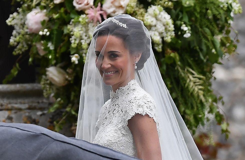 On découvre enfin la robe de mariée de Pippa Middleton, et elle est sublime (Photos)