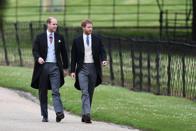 William et Harry au mariage de Pippa Middleton et James Matthews