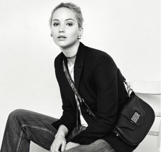 Jennifer Lawrence en toute élégance pour Dior
