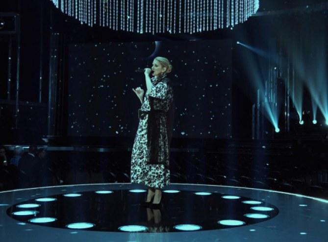 Céline Dion en répétitions