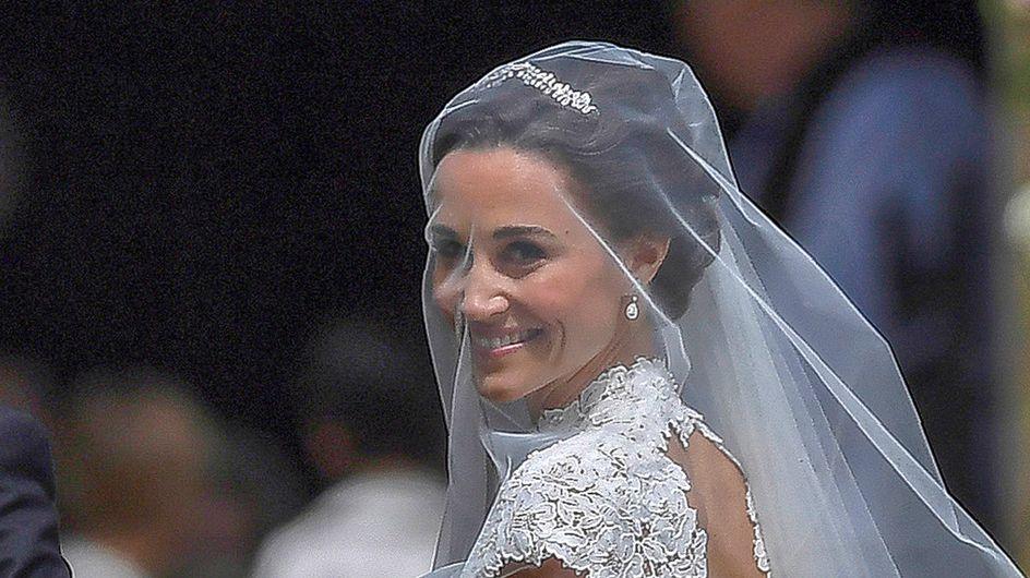 Las claves del vestido de novia de Pippa Middleton