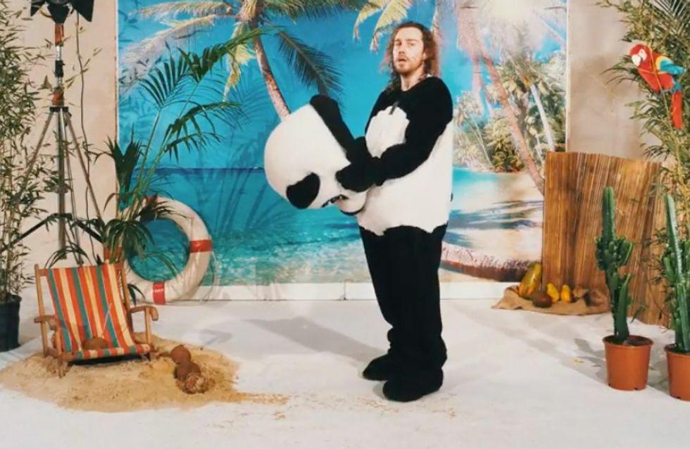 Panda et karaoké, le cocktail de choc de Julien Doré pour le clip Coco Câline (Vidéo)