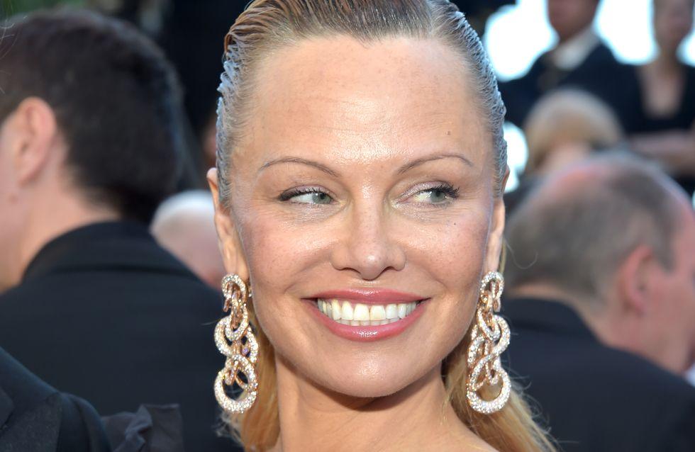 Sur la Croisette, Pamela Anderson était méconnaissable ! (Photos)