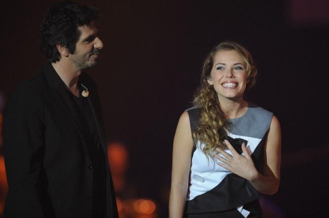 Patrick Fiori et Emma Daumas