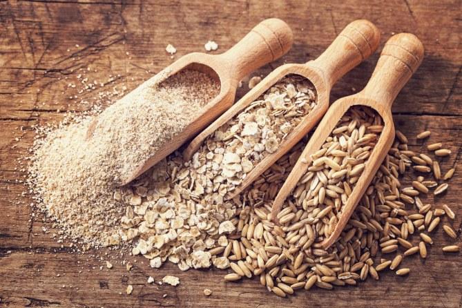 Trigo, centeno, avena, cebada y espelta.