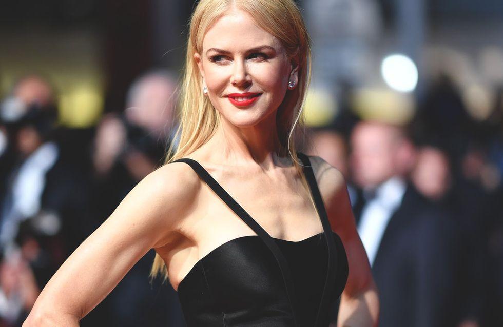 Nicole Kidman, éblouissante dans sa robe ballerine à Cannes (Photos)