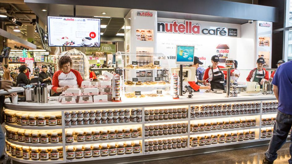 El primer café de Nutella abre (y nosotras ya planeamos el viaje)