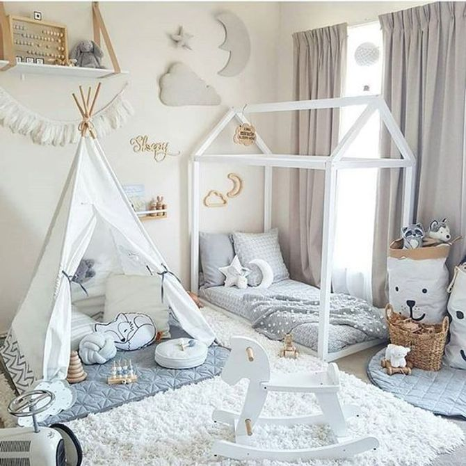 Idee Decoration Chambre Bebe Fille 1001 Id Es Pour Am Nager Une ...
