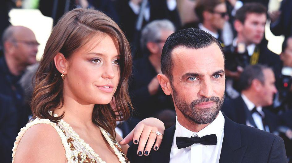 Quelques semaines après avoir accouché, Adèle Exarchopoulos resplendit à Cannes (Photos)