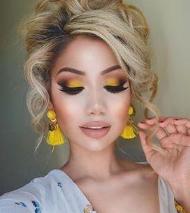 ¡Adiós supersticiones! 25 formas de incluir el amarillo en tu maquillaje