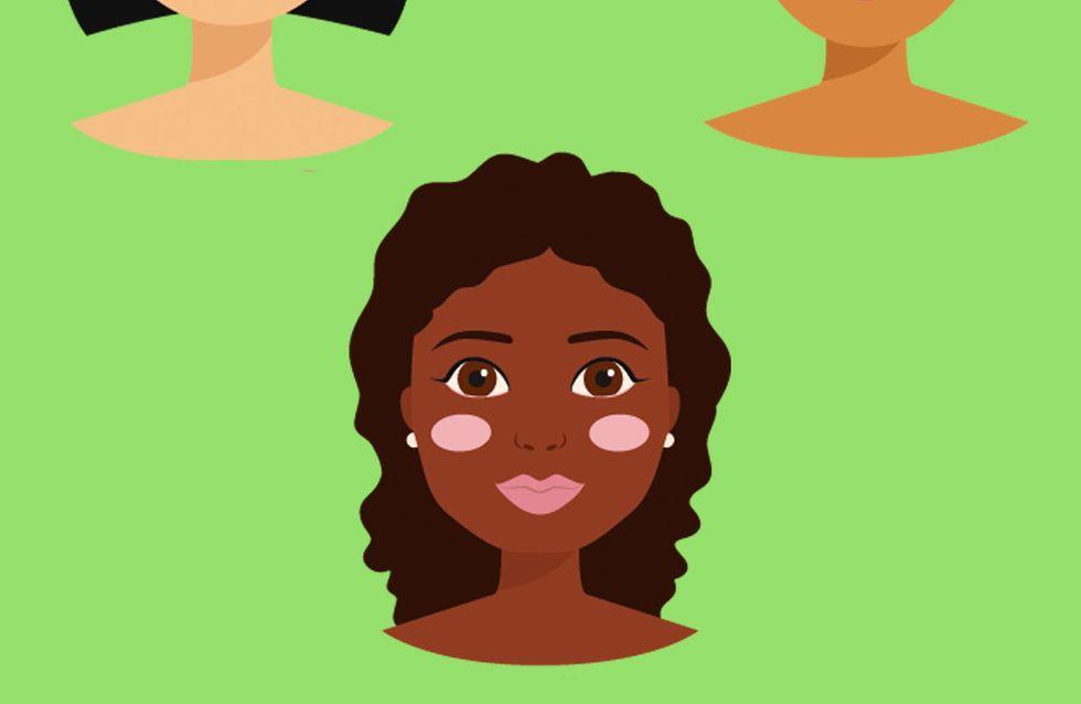 A sobrancelha que mais combina com seu formato de rosto