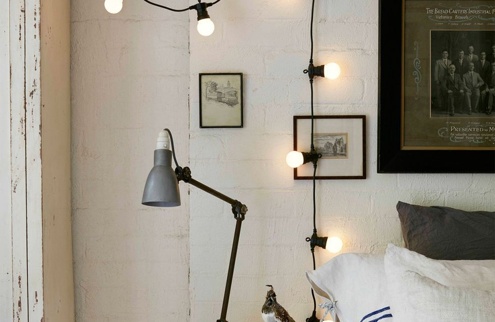 6 façons d'utiliser les guirlandes lumineuses en déco