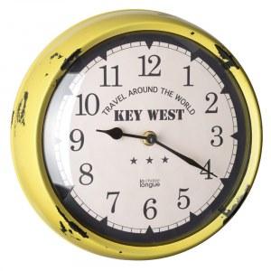 Horloge murale vintage, La Chaise Longue : 11,99 euros
