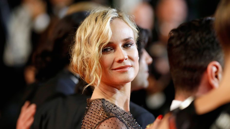 Diane Kruger a-t-elle vraiment porté une robe toute transparente pour monter les marches ?
