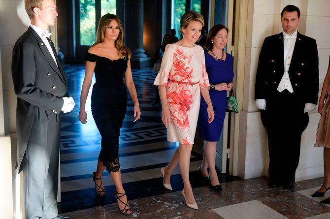 Les meilleurs looks de Melania Trump en Europeg