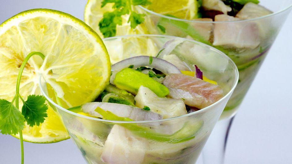 Facile, original et frais, le ceviche, le poisson mariné en 3 versions branchées !