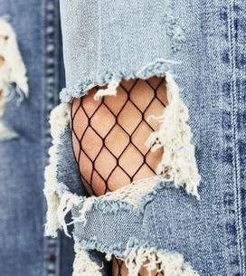 Le calze a rete sono un must! Qui i consigli per un outfit sexy ma non volgare