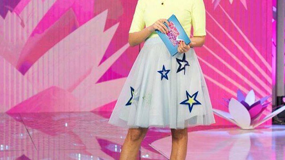 Caterina Balivo, bellissima con il pancione! Tutti i look premaman della conduttrice