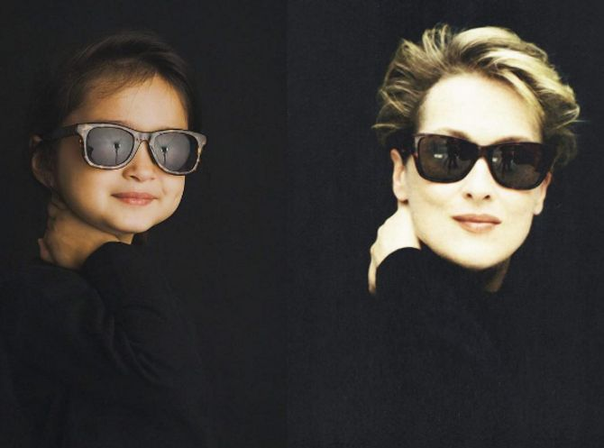 Scout e Maryl Streep