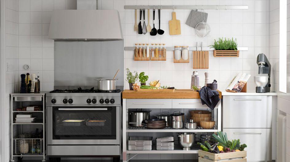 5 trucos para hacer que tu cocina parezca más amplia