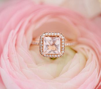 20 anillos de compromiso de color rosa que a todas nos gustaría tener